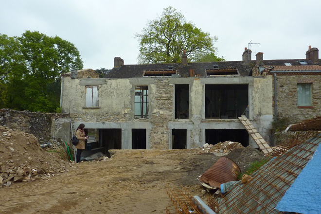 22 surelevation maison bourg le cellier