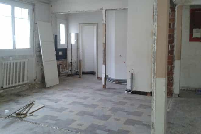 r novation appartement centre ville de nantes r nov par un architecte. Black Bedroom Furniture Sets. Home Design Ideas